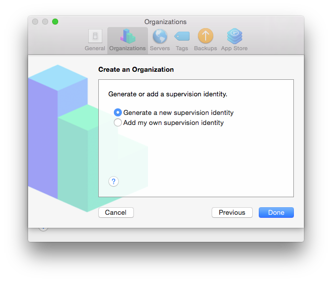 Apple Configurator & Supervision Certificates